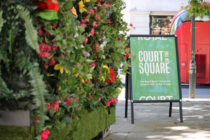 Royal Court Theatre Announces New Pop-Up Bar & Cafe, Court In The Square, To Open This Friday