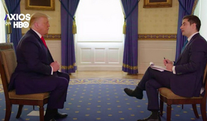 AXIOS to Air Exclusive Interview with President Trump