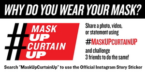 Social Roundup: Alex Brightman, Rachel Zegler, and More Broadway Stars Join Together to #MaskUpCurtainUp