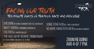 Hippodrome State Theatre Will Present FACING OUR TRUTH: TEN MINUTE PLAYS ON TRAYVON, RACE AND PRIVILEGE