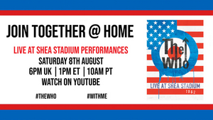 The Who Launch 'Join Together @ Home'