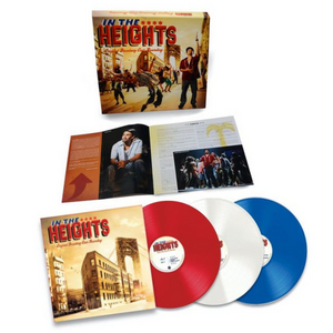 IN THE HEIGHTS Original Broadway Cast Recording to be Released as Red, White & Blue Vinyl 3-LP Box Set