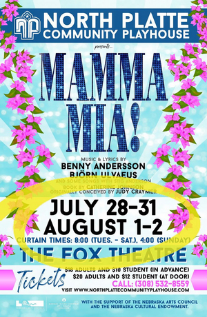 Eight Cast & Crew Members Test Positive for COVID-19 After North Platte Community Playhouse Stages MAMMA MIA!