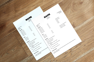 BWW Blog: A Beginner's Guide to Resumes - The Dos and Don'ts