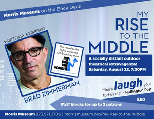Brad Zimmerman Returns to The Morris Museum With MY RISE TO THE MIDDLE
