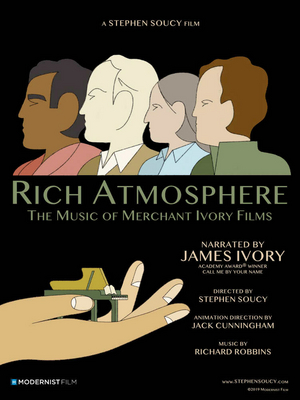 RICH ATMOSPHERE: THE MUSIC OF MERCHANT IVORY FILMS to Debut at OutFest 2020's Digital Los Angeles LGBT Film Festival