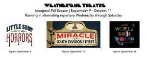 Weathervane Theatre to Stage First Actors' Equity-Approved Indoor Production Since The Start of the Health Crisis