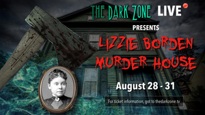 Tune in to THE LIZZIE BORDEN MURDER HOUSE Live Stream Event