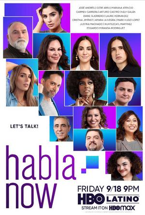 HBO Latino's HABLA NOW Premieres September 18