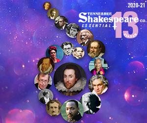 Tennessee Shakespeare Company Opens its 13th Season with CLASSICAL CREATIVITY IN QUARANTINE Salon