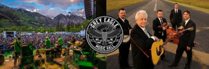 The Grey Eagle Announces Drive-In Shows Featuring Sam Bush Band and Del McCoury Band