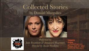 Austin Pendleton Directs COLLECTED STORIES Starring Judy Rosenblatt and Annemarie Hagenaars