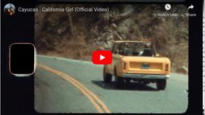 Cayucas Debut 'California Girl' Video