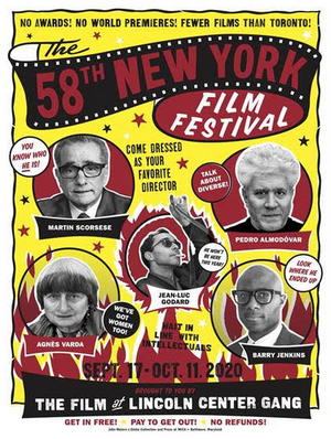 Film at Lincoln Center Unveils the 58th New York Film Festival Poster
