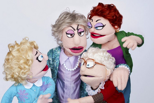 16 Original Episodes of THAT GOLDEN GIRLS SHOW! - A PUPPET PARODY to be Broadcast on Broadway On Demand
