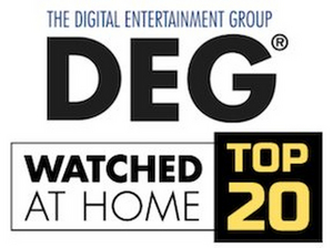 Fan-Favorite Titles Join DEG's Watched at Home Top 20 List