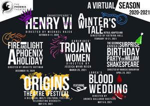 Phoenix Theatre Announces All Digital 20-21 Season