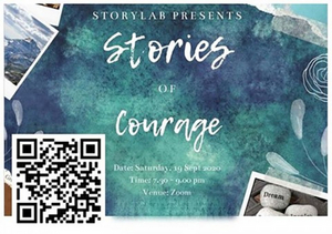 Arts Republic Presents Storytelling Performance: Stories of Courage