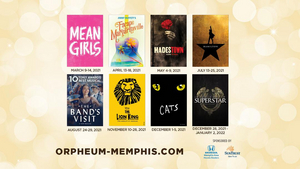 Orpheum Announces Date Changes at Orpheum Theatre Memphis