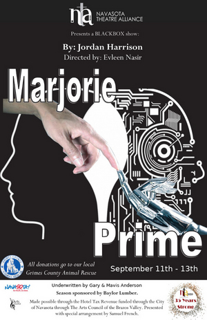 Navasota Theatre Alliance Presents First Virtual Show, MARJORIE PRIME