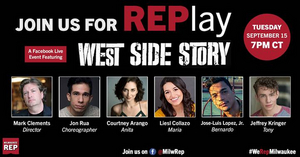 Milwaukee Repertory Theater Presents REPlay Series Featuring Jon Rua and More From WEST SIDE STORY