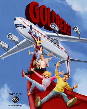 THE GOLDBERGS Takes Off With New AIRPLANE! Inspired Key Art