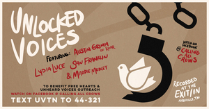 Unlocked Voices Announces First In A Series Of Livestream Fundraiser Events