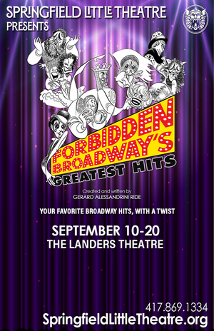 Springfield Little Theatre Presents FORBIDDEN BROADWAY'S GREATEST HITS
