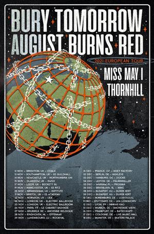 August Burns Red Announce Fall 2021 European Tour