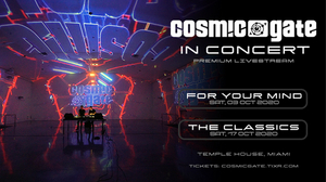 Cosmic Gate Announce Two-Part Digital Concert Series