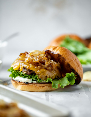 NATIONAL CHEESEBURGER DAY 9/18-Delicious Recipe by Jessica Merchant
