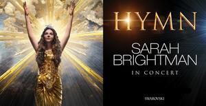 Sarah Brightman's  2020 HYMN IN CONCERT Tour Rescheduled for Nov/Dec 2021