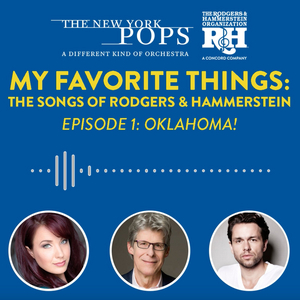 Listen to Sierra Boggess and Julian Ovenden on Episode 1 of MY FAVORITE THINGS: THE PODCAST