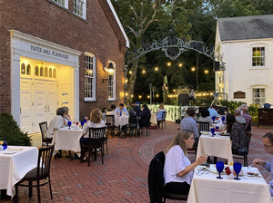 Paper Mill Playhouse Extends Outdoor Dining and Brookside Cabaret Through October