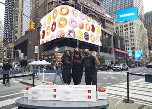 Cast Members Of CHICAGO Flip The Switch On New Krispy Kreme Doughnuts Shop