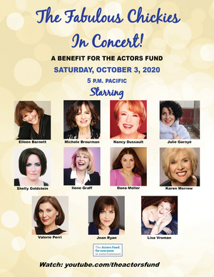 THE FABULOUS CHICKIES IN CONCERT to Benefit The Actor's Fund