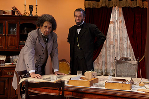 BWW Review: Douglass and Lincoln debate NECESSARY SACRIFICES at North Coast Repertory Theatre