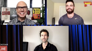 Corey Cott and Aaron Lazar Talk FILTHY RICH and More on Backstage LIVE With Richard Ridge