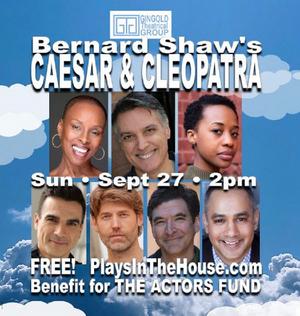 STARS IN THE HOUSE Will Present CAESAR & CLEOPATRA Featuring Robert Cuccioli, Mirirai Sithole and More