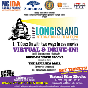 The 23rd Annual Long Island International Film Expo to Show Virtual and Drive-In Movies