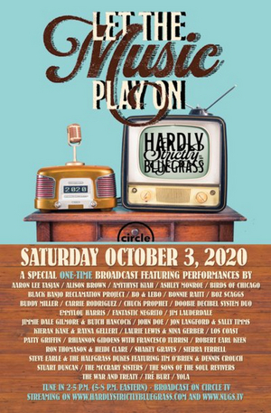 HARDLY STRICTLY BLUEGRASS Announces Full Artist Lineup
