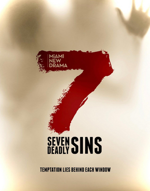 Miami New Drama to Present 7 DEADLY SINS, Site-Specific, Socially Distanced Event