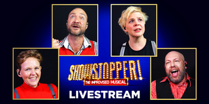 SHOWSTOPPER! THE IMPROVISED MUSICAL Announces Four Livestream Events in October