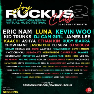 Sessions Partners with Joy Ruckus Club To Stream Largest Virtual Asian American Music Festival