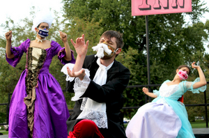BWW Review: The Cherry Arts Presents a Masked Outdoor Production of THE FAN