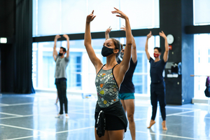 Dancers Return to Classes at the Joffrey Ballet