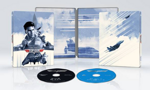 TOP GUN to be Released in Limited-Edition 4K Ultra HD/Blu-ray Combo Steelbook