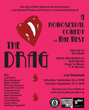 BWW Review: THE DRAG by Mae West Presented by The City Of West Hollywood and Classical Theatre Lab