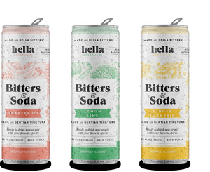 HELLA COCKTAIL CO. Expands Bitters & Soda Line with Three Unique Flavors