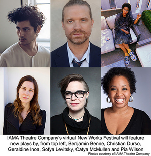 IAMA Theatre Company Live-Streams New Works Festival: Free Readings of Six New Plays